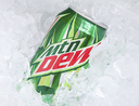 mountain dew can ice