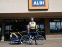 Man outside Aldi