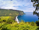 Scenic Waipi'o Valley, Big Island, Hawaii