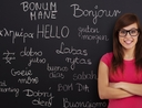 Woman learning second language to boost her career