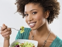 Woman finding fast ways to make cheap, healthy meals