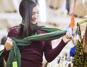 Woman shopping and getting money boost to grow her savings