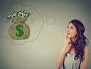 Woman learning how to make better financial decisions