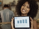 Woman using top 5 apps for organizing personal finances