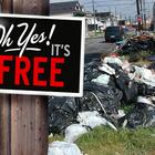 free garbage