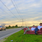 guys on a couch