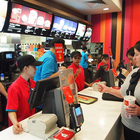 ordering fast food