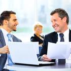 businessmen conversation