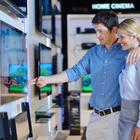couple tv shopping