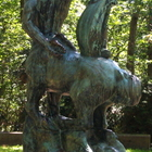 Statue of Dying Centaur in Allerton Park