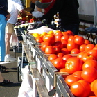 Healthy food at the farmer's market