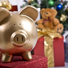 holiday piggy bank