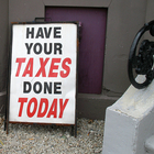 Have your taxes done today