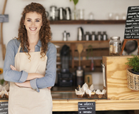 Woman finding smart ways to get a small business loan