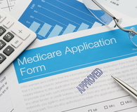 Approved Medicare application form