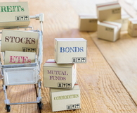 Cartons of financial investment products