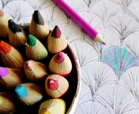 Using the best coloring pencils to color