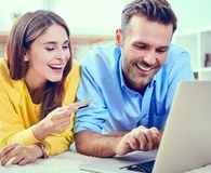 Couple getting on board with budgeting