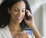 Woman getting better deal on her credit card by cancelling