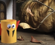 Making Halloween frights you can make from trash