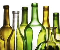 Finding smart ways t reuse empty glass bottles