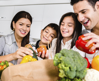 Family learning bizarre ways to save money on food