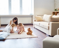 Family easing into minimalism with simple steps