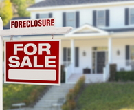 Foreclosure Home For Sale Sign