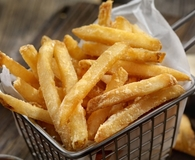 Eating healthy french fries with air fryer