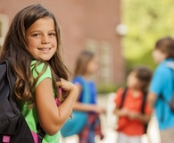 Parent saving big on back-to-school for child