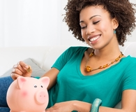 Woman not apologizing for money-saving habits