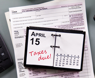 Learning why Tax Day is on April 15