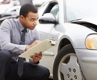 Man learning how a claim will impact car insurance