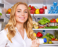 Woman learning things she should keep in the fridge