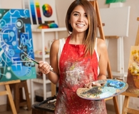 Woman finding hobby she can start for under $10
