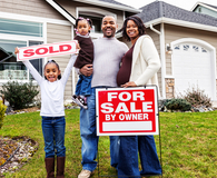 Family selling a home without a traditional agent
