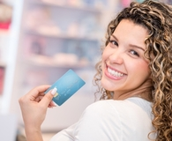 Woman wondering if she should sign up for a store credit card