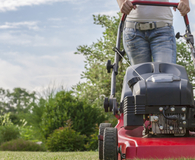 Buying an electric lawn mower over a gas mower