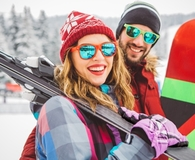 Family finding affordable places to ski