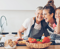 Sandwich generation practicing self care