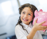 Kids learning parents' bad financial habits