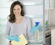 cleaning kitchen tools and appliances naturally