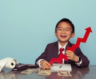 Child finding small cap value investments that are on fire