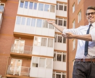 Man learning important lessons about money as a landlord