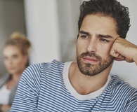 Man committing financial infidelity and how to stop