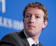 Mark Zuckerberg at G8 in Deauville, France