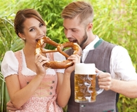 Couple hosting Oktoberfest party on the cheap