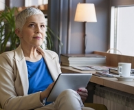 Woman making financial moves five years before retirement