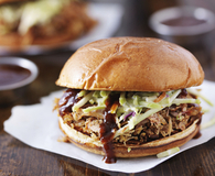 Crock pot pulled pork sandwiches to serve at your next party