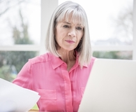 Woman beating common retirement struggles